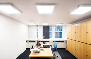 Elexacom office fit-out lighting